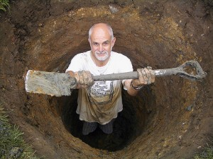 diggingahole