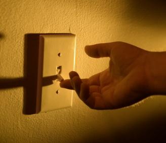 Turn the lights on